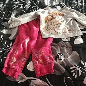 Beauty and The Beast sweat outfit